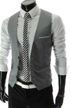 Real Worsted Acetate The New Men's Fashion Leisure Suit Vest / Wedding Banquet  With V-neck.