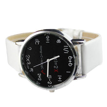 Numbers Imitation Leather Quartz Wristwatch for women.