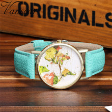 Candy Color unisex Strap Wristwatch.