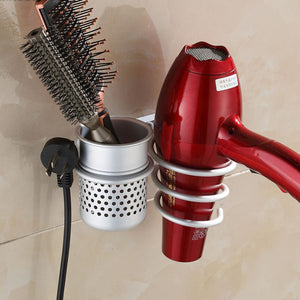 New Arrival Wall Mounted Hair Dryer, Drier Comb Holder Rack Stand, Set Storage Organizer  Excellent Quality.