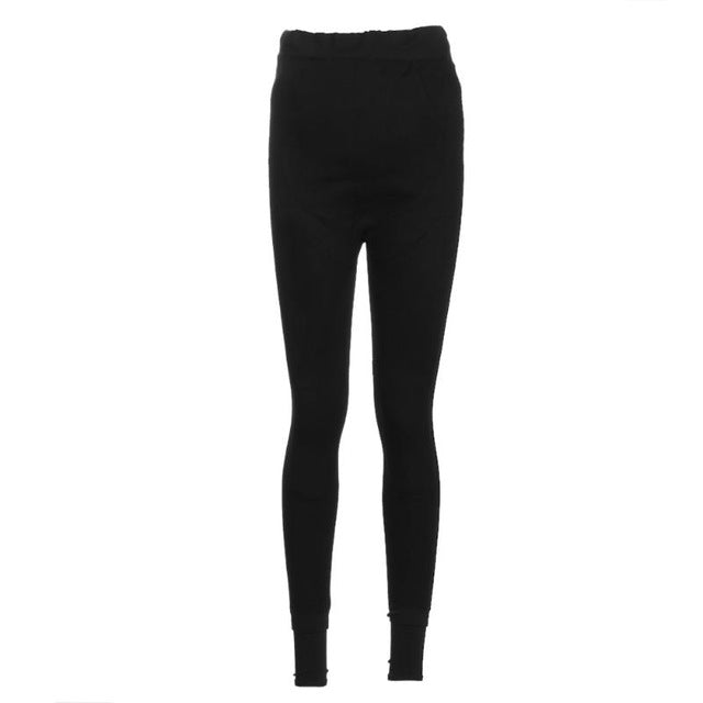 Maternity  Leggings  Thicken Velvet Pants with Additional Warm Patch On Knee And Belly.