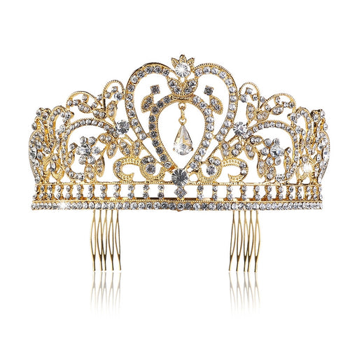Wedding  Rhinestones Headband  Crown.