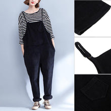 Loose Casual Pockets Maternity Sling Pants,  Overalls Trousers Autumn Winter.