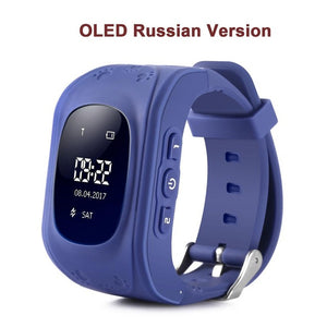 Wristwatch GSM GPRS GPS Locator Tracker Anti-Lost Safe Smartwatch Child Guard for iOS Android.