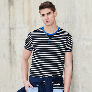 Pioneer Camp 2018 New striped fashion short sleeve T shirt male hihg quality casual summer  Tees ADT702094.