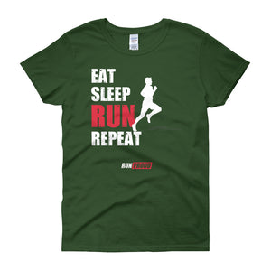 Eat Sleep Run Repeat - Women's Short Sleeve T-shirt