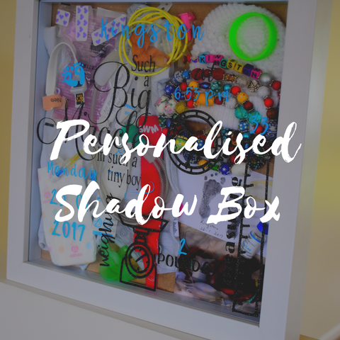 Personalised Birth Shadow Box