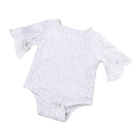 Lovely Baby Girl Flared Sleeve Jumpsuit