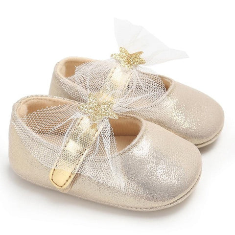Mary Jane Princess Ballet Infant Shoes in 4 Colors