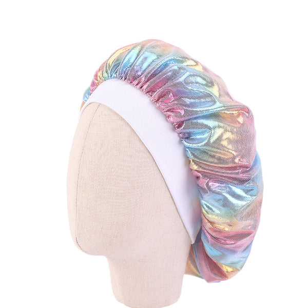 Kids Multicolour #5 Silky Bonnet
