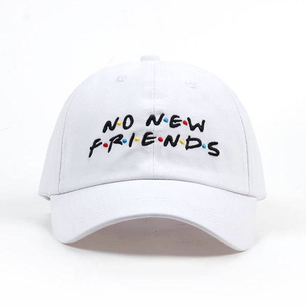 No New Friends Dad Hat - Taelor Boutique