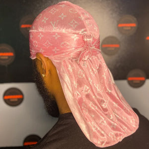 Light Pink LV Designer Durag