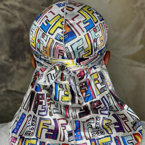 Colourful FF #2 Designer Durag