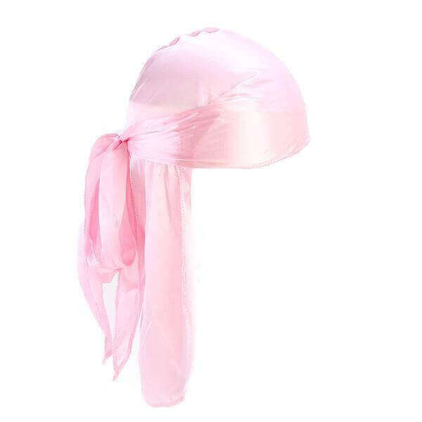 Pink Silk Durag - Taelor Boutique