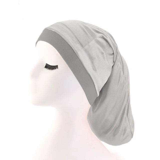 Grey Silky Dreadlock Cap - Taelor Boutique