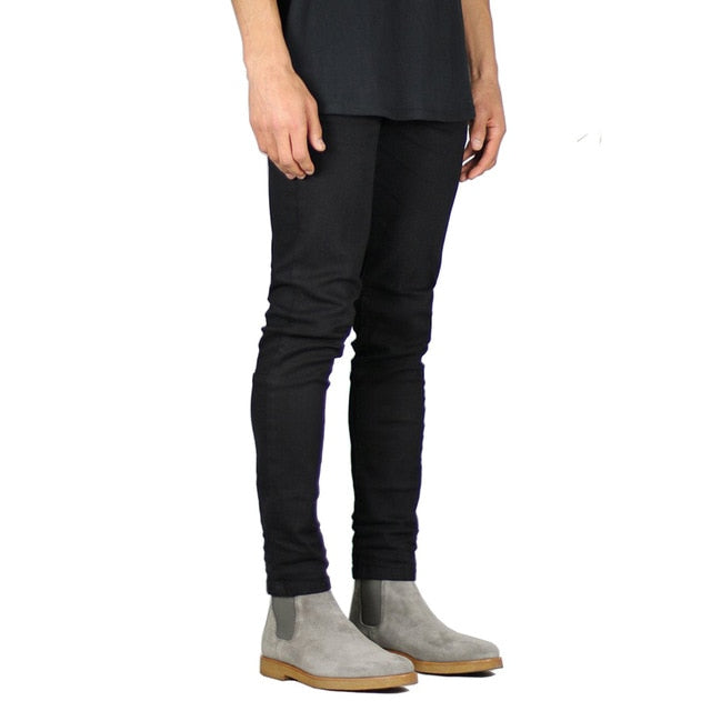 Black Stretch Skinny Jeans - Taelor Boutique