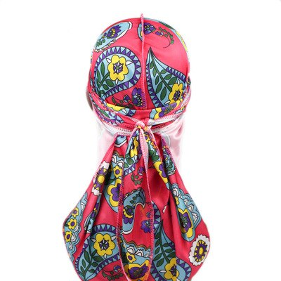 Colourful Paisley Silk Durag - Taelor Boutique