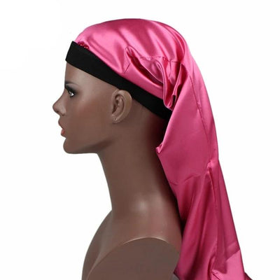 Hot Pink Silky Dreadlocks Cap - Taelor Boutique