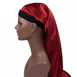 Red Silky Dreadlocks Cap - Taelor Boutique