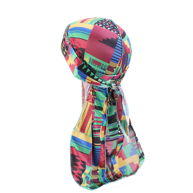 African Print #2 Silky Durag - Taelor Boutique