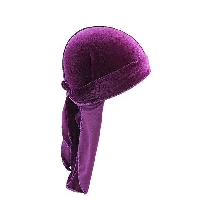 Purple Velvet Durag - Taelor Boutique