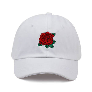 White Roses Dad Hat - Taelor Boutique