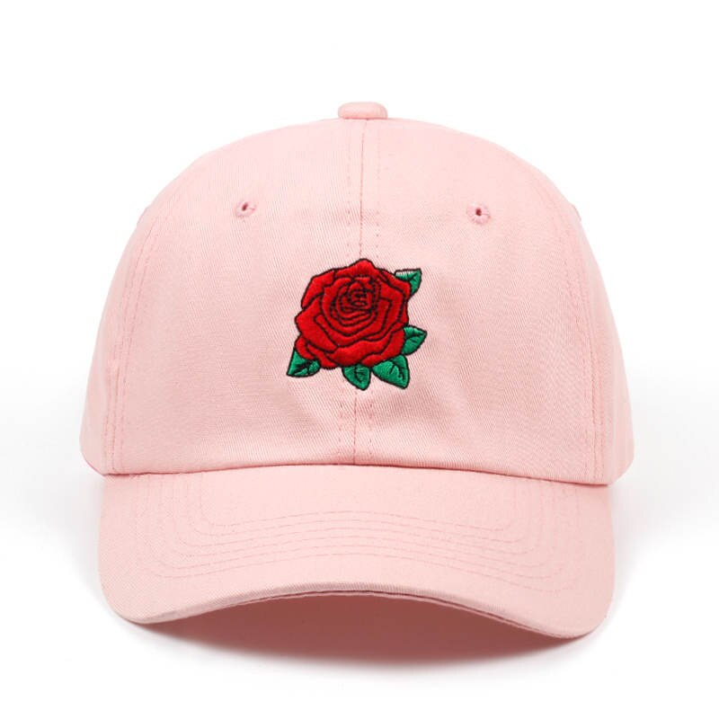 Pink Roses Dad Hat - Taelor Boutique