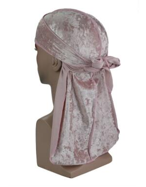 Light Pink Luxury Velvet Durag - Taelor Boutique