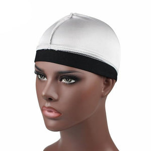 Silver Silky Wave Cap - Taelor Boutique