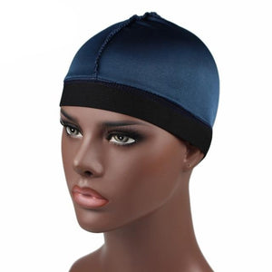 Teal Silky Wave Cap - Taelor Boutique