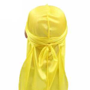 Yellow Kids Silky Durag - Taelor Boutique