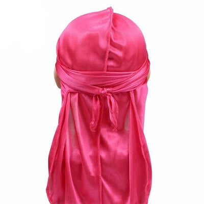 Pink Kids Silky Durag - Taelor Boutique
