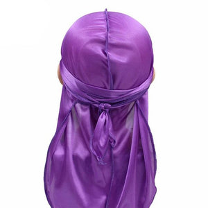 Purple Kids Silky Durag - Taelor Boutique