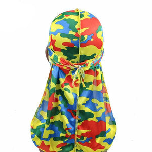Silk Multi Camo Durag - Taelor Boutique