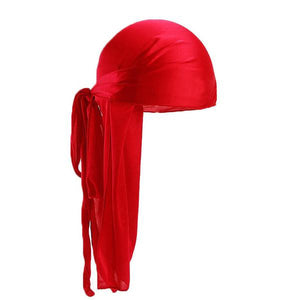 Red Silk Durag - Taelor Boutique