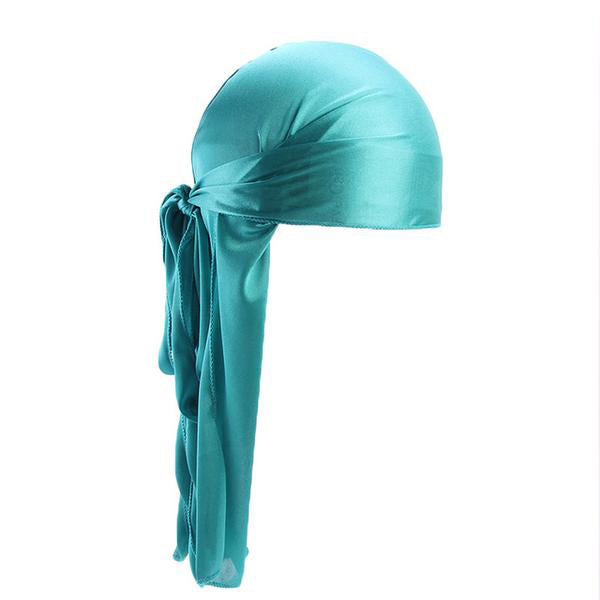 Sky Blue Silk Durag - Taelor Boutique