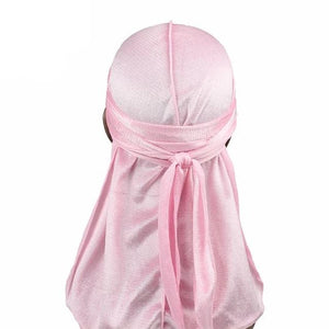 Light Pink Velvet Durag - Taelor Boutique