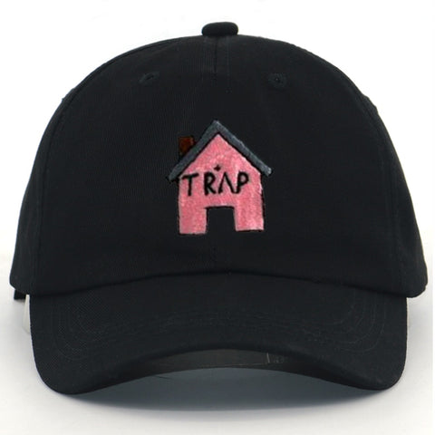 Pink Trap House Dad Hat - Taelor Boutique