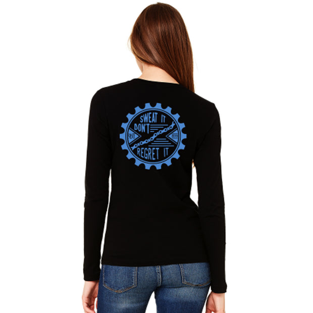 Womens Sweat It Long Sleeve