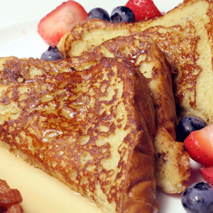 challah french toast - gift kosher