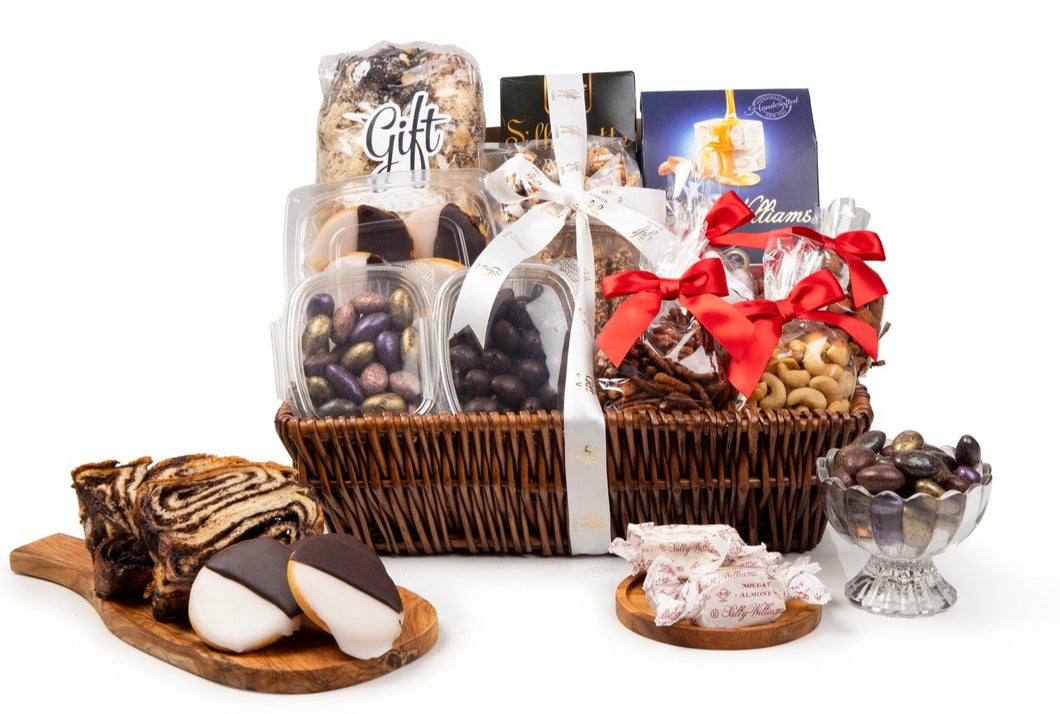 Holiday Chocolate & Sweets Gift Basket by Gift Kosher