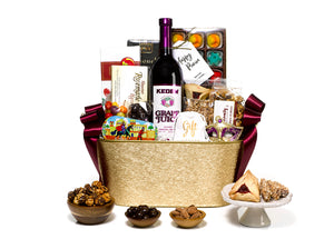 Festive Purim Basket by Gift Kosher