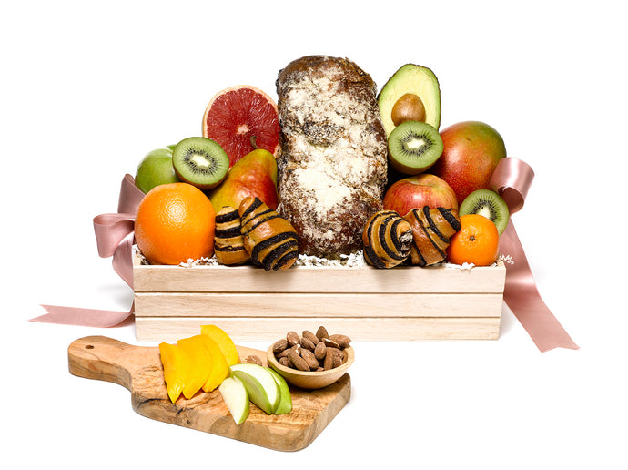 Classic Bakery & Fruit Gift Basket by Gift Kosher