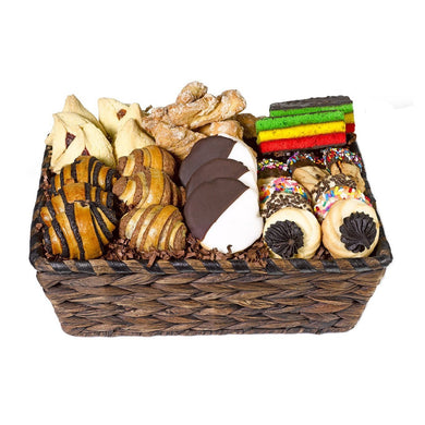 Shiva Sympathy Cookie Basket by Gift Kosher