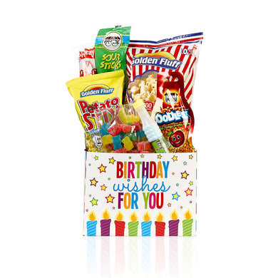 Gift Box with sweet treats for a Happy Birthday! by Gift Kosher