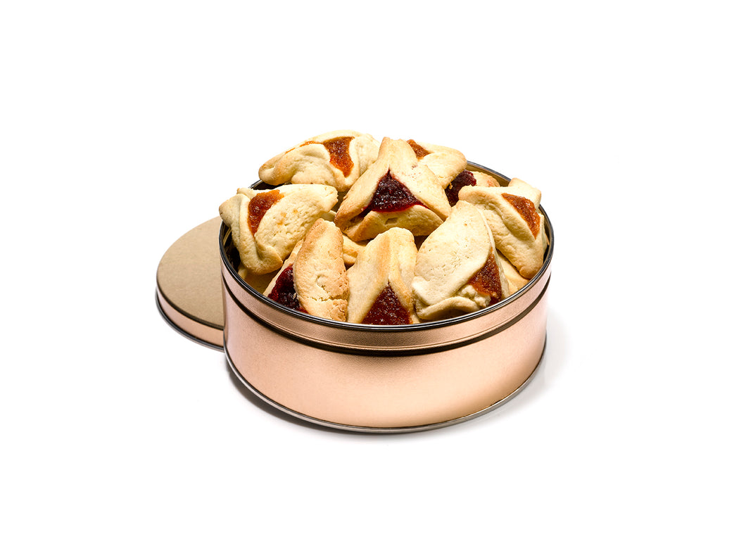 Hamentashen Gift Tin by Gift Kosher