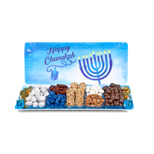 Hanukkah Chocolate & Nuts Gift Platter by Gift Kosher