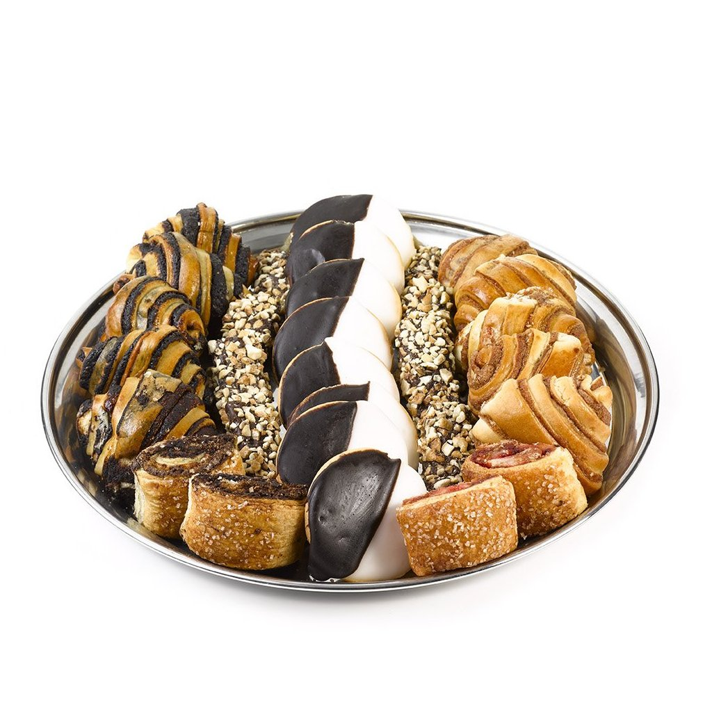 Elegant Platter with Baked goods & Chocolates - Gift kosher