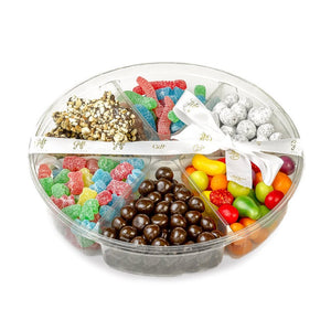 Large Gift Kosher tray filled with Candies and chocolates