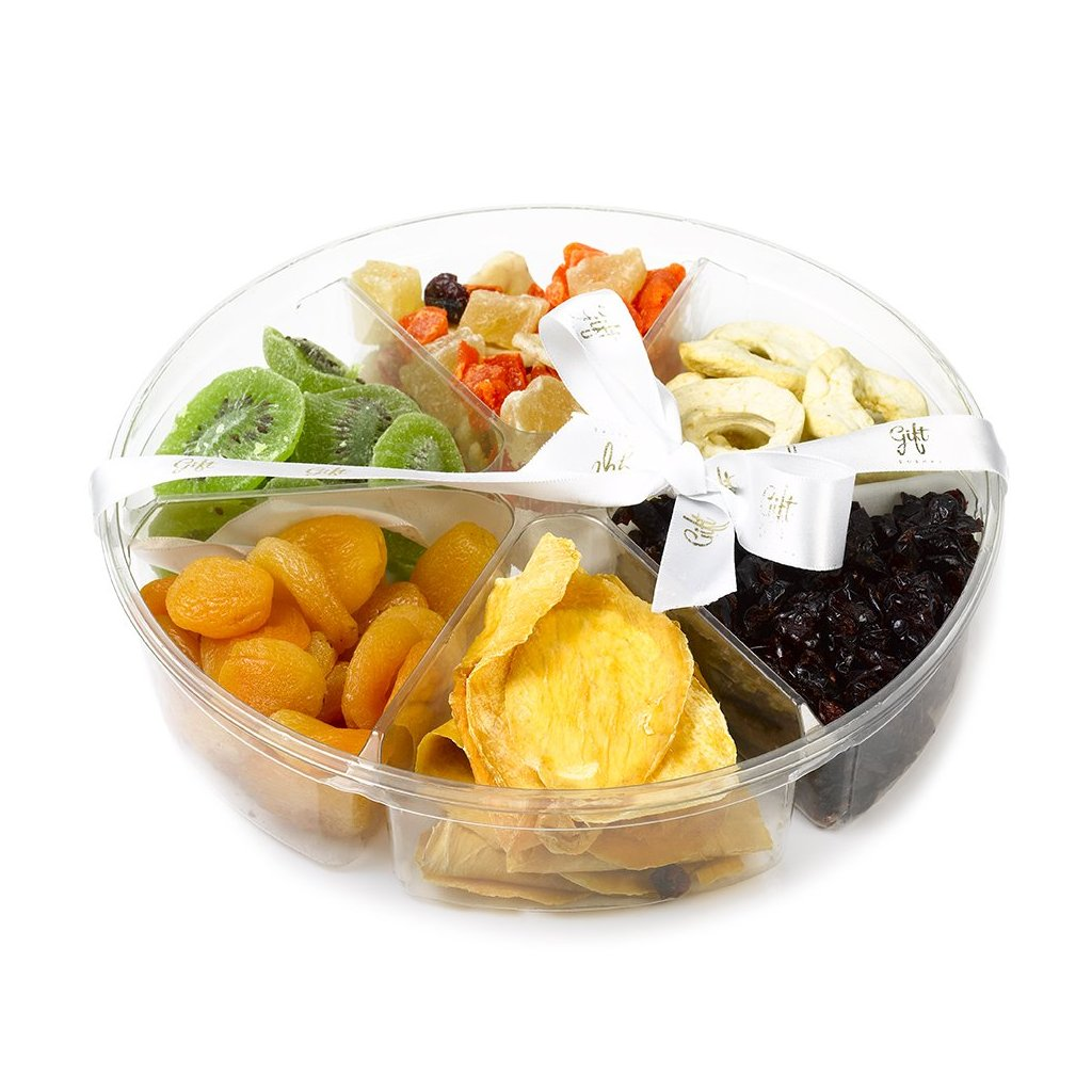 Gift Kosher Large Tray filled with Premium Dried fruits